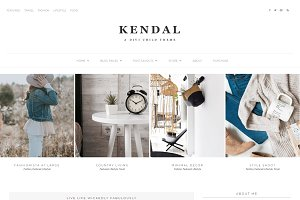 Kendal - Divi WordPress Blog theme