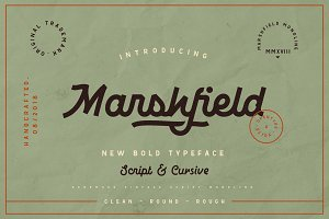 Marshfield Typeface