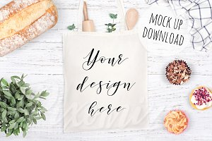 Tote Bag Mockup Photograph