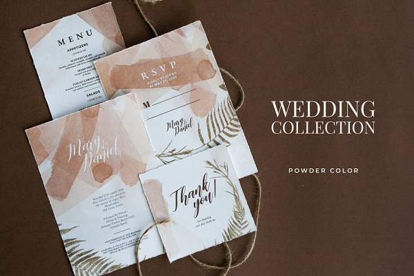 Invitation Templates: BigWeek - Wedding Invitation