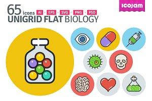 UniGrid Flat Biology