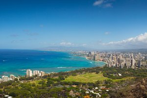Honolulu Hawaii Panoramic