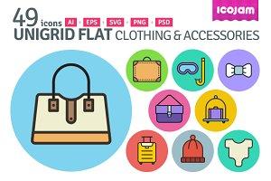 UniGrid Flat Clothing & Accessories