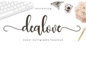 dealove font script