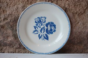 Vintage Blue and White Plates