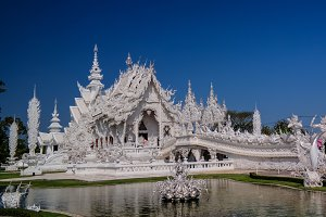 Wat Rong Khun aka white temple, Chia