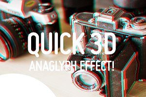 Quick 3D Anaglyph Effect
