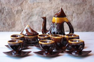 Vallauris Vintage Coffee Set