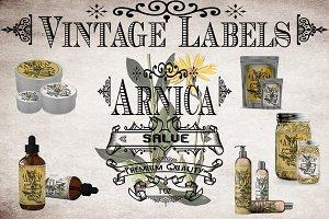 Arnica Vintage Labels
