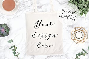 Canvas Bag Product Mockup