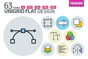 UniGrid Flat Design
