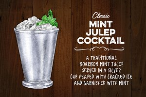 Mint Julep in Classic Silver Cup