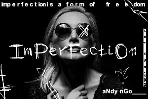 ImPerFectiOn Font