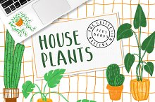 HOUSEPLANTS – PNG & Patterns Pack