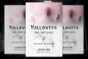 Spooky Halloween Flyer Party, Event