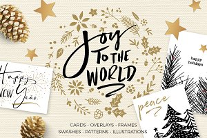 JOY TO THE WORLD HOLIDAY DESIGN KIT