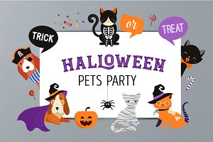 Halloween Pets Party collection