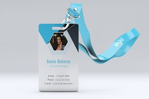 Creative Office ID Card