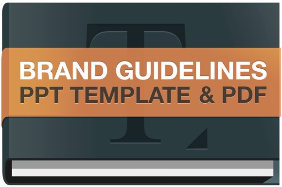 ppt brand guidelines template presentation templates creative market