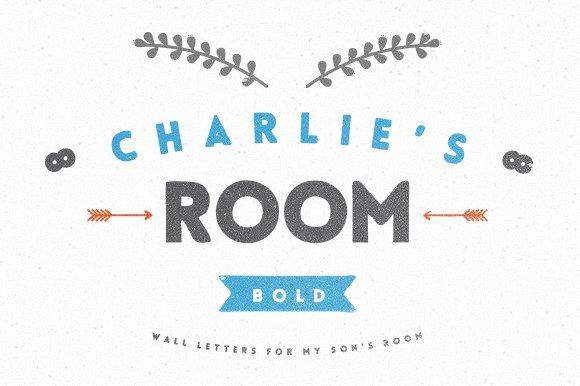 Charlie 39 s display fonts creative market for Charlie s fish market