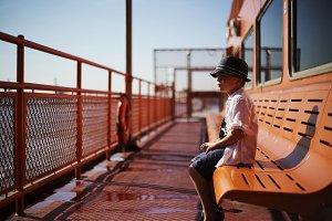 boy on Staten Island Ferry 01