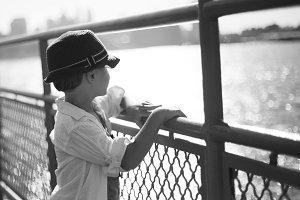 boy on staten island ferry 02
