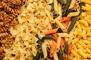 Assorted Pasta Baackground