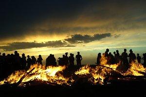 Burn in the fire