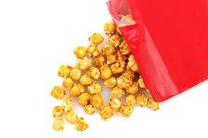 Caramel Corn Spill