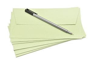 pen and cover