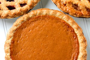 Fresh Baked Holiday Pies