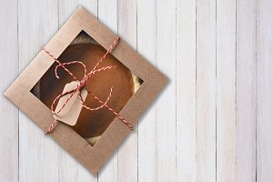 Pumpkin Pie in Box