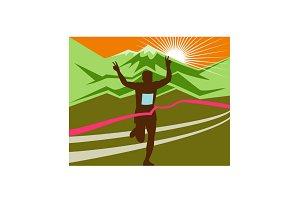 Marathon Race Finisher