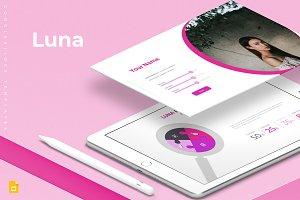 Luna Google Slide Template