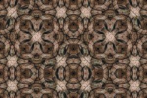 Gothi Revival Geometric Seamless Pat