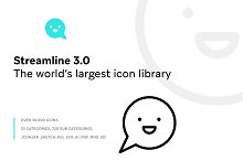Streamline 3.0 - Ultimate Pack by  in Icons