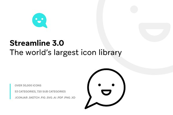 Icons - Streamline 3.0 - Ultimate Pack
