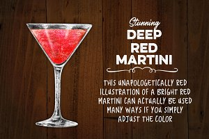 Deep Red Martini - Versatile