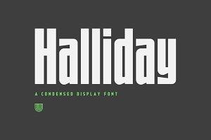 UTC Halliday Font