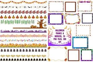 Halloween Frames & Borders