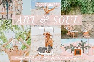 ART & SOUL MOBILE PRESETS
