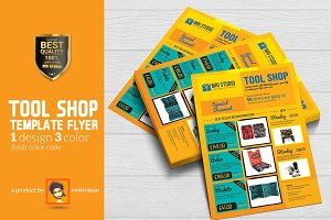 Tool Shop Flyer Template