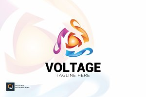 Voltage - Logo Template