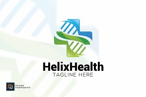 Helix Health - Logo Template