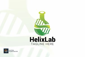 Helix Lab - Logo Template