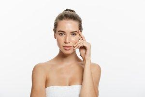 Woman Beauty Makeup, Natural Face