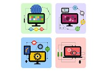 Graphic Design, Web Application