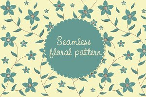 Floral Pattern-Seamless