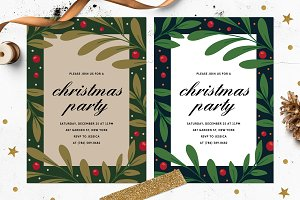 Fun Christmas Party Invitation