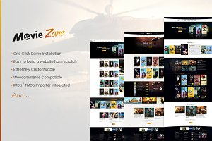MovieZone - Movie, Cinema WP Theme